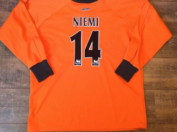 2002 2004 Southampton Niemi Goalkeeper GK Football Shirt Adults XL